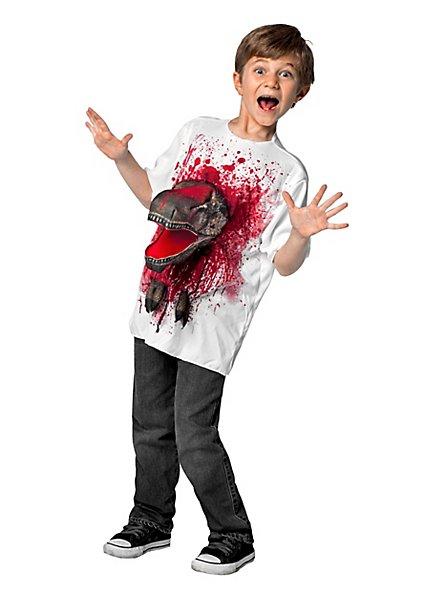 3D Attacks! Kids shirt T-Rex