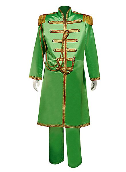 "60er Popband Uniform ""Sgt. Pepper"" gruen"