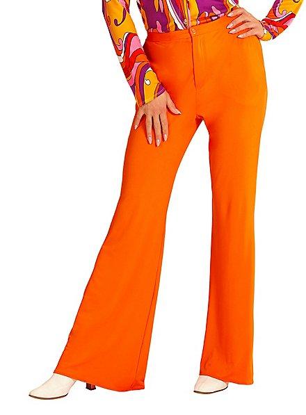70er Jahre Damenhose orange