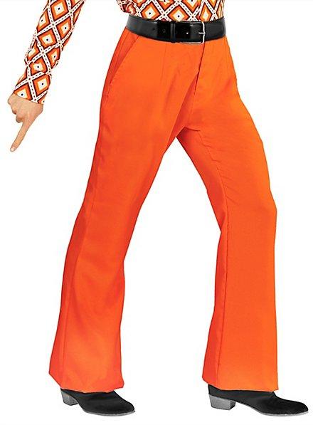 70er Jahre Herrenhose orange
