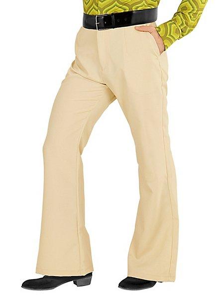70s men pants beige