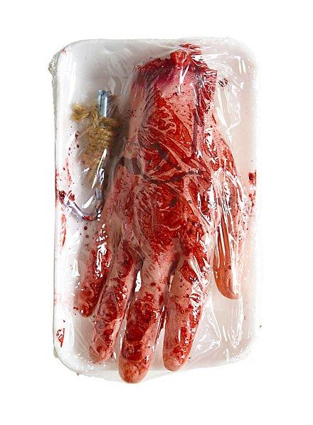 Abgepackte Hand Halloween Deko