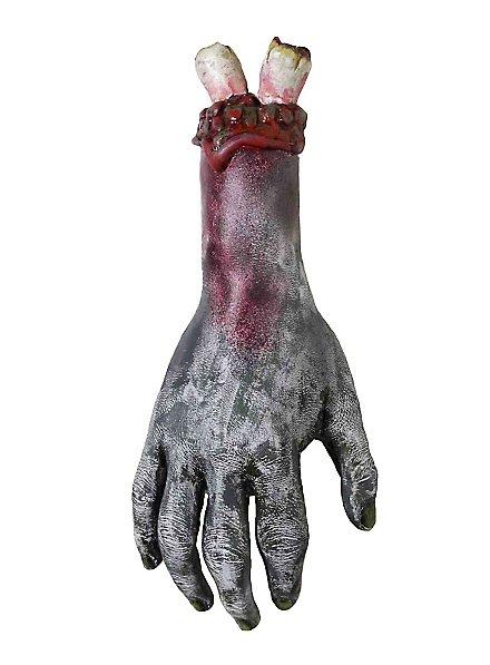Abgerissene Zombie Hand