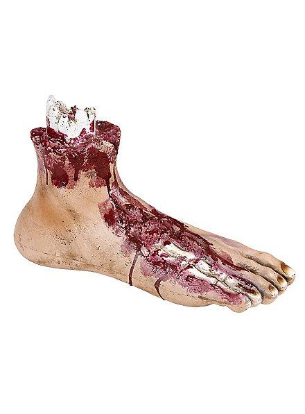 Abgerissener Fuß Halloween Deko