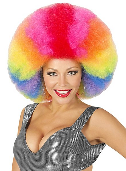 Afro XXL Wig colored