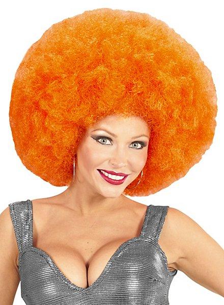 Afro XXL Wig orange