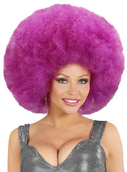 Afro XXL Wig purple