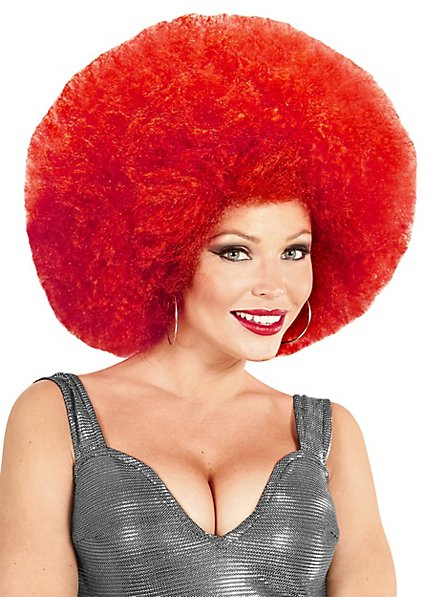 Afro XXL Wig red