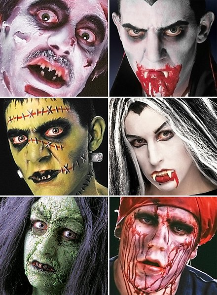 All in One Horror Set Make-up