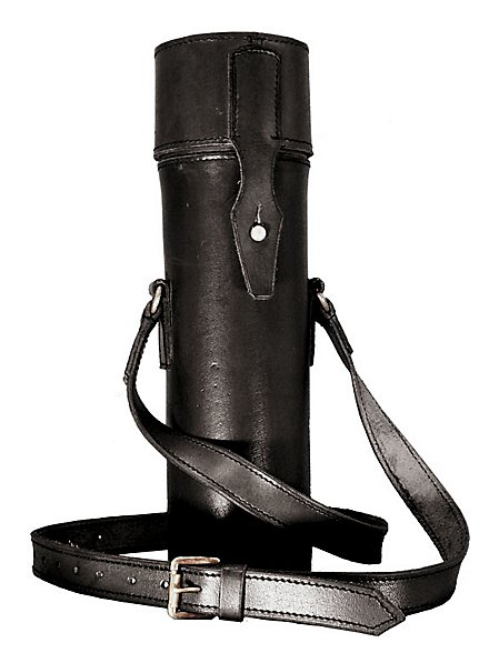 Ambience Thermos Flask with Shoulder Bag black