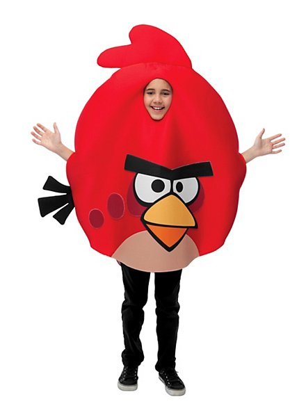 Angry Birds Kids Costume red