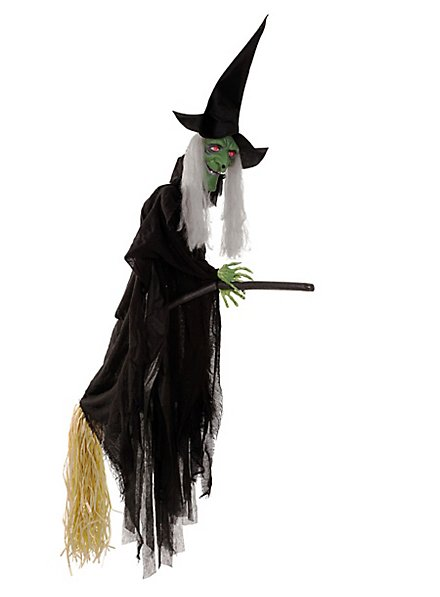 Animierte hässliche Hexe mit Sound