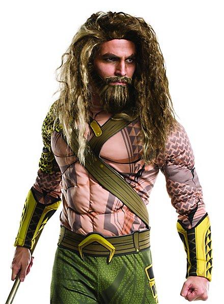 Aquaman beard with wig