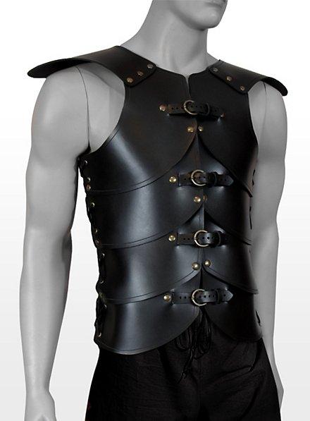 Armure de guerrier en cuir