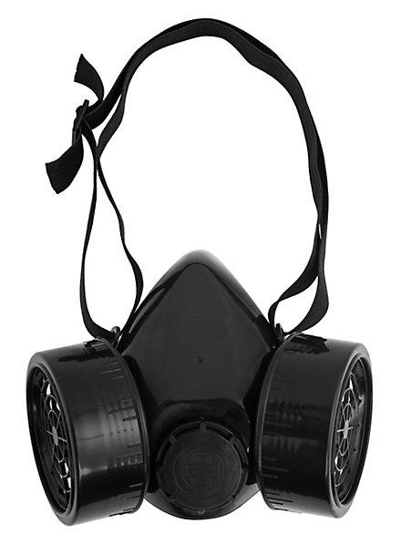 Atemschutzmaske schwarz