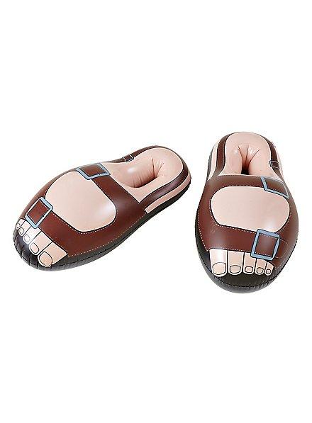 Aufblasbare Sandalen