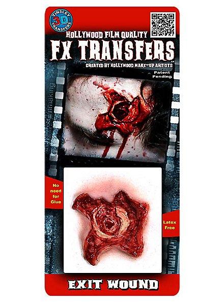 Austrittswunde 3D FX Transfers