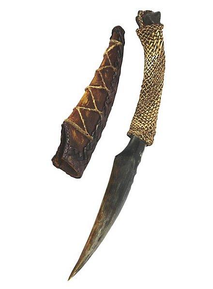 Avatar Navi Messer Spielzeugwaffe mit Scheide