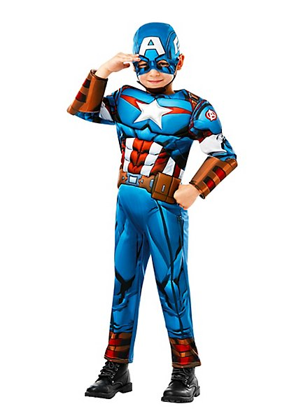 Avengers Assemble Captain America Child Costume
