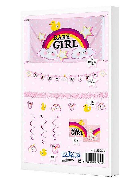 Baby Girl Deko-Set