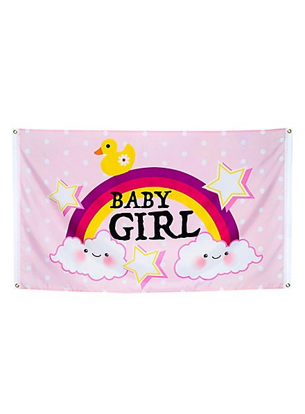 Baby Girl Fahne