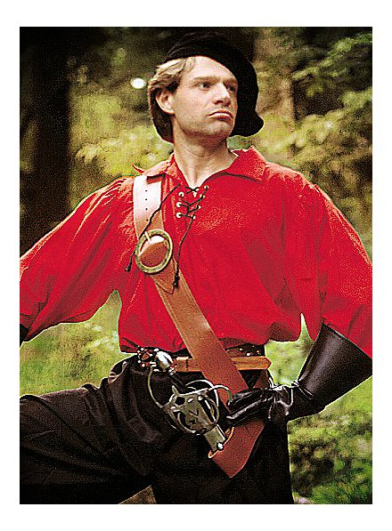 Bandoulière de chevalier pour droitier marron