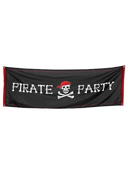 Banner Pirate Party