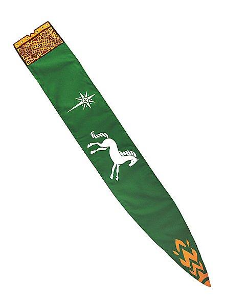 Bannière de Rohan classique Seigneur des Anneaux