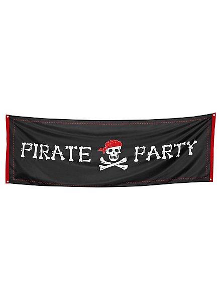 Bannière fête pirate