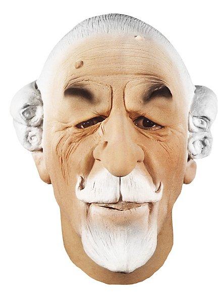 Baron Münchhausen Maske aus Schaumlatex