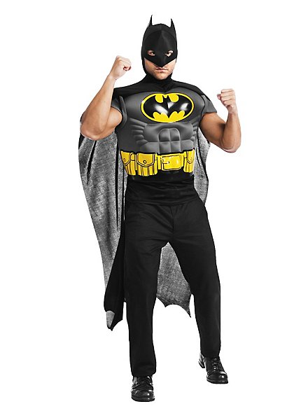 Batman Muskelshirt Kostüm