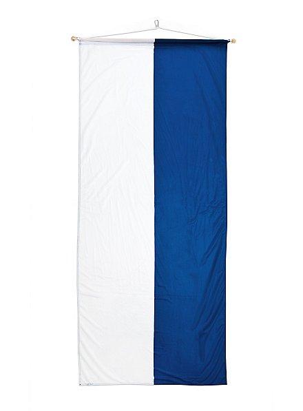 Bayerisches Banner weiß-blau