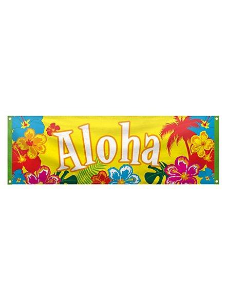 Beach Party Aloha Banner
