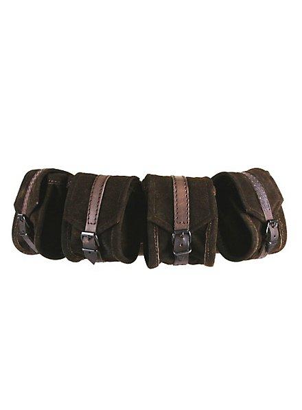 Belt Pouch Set brown