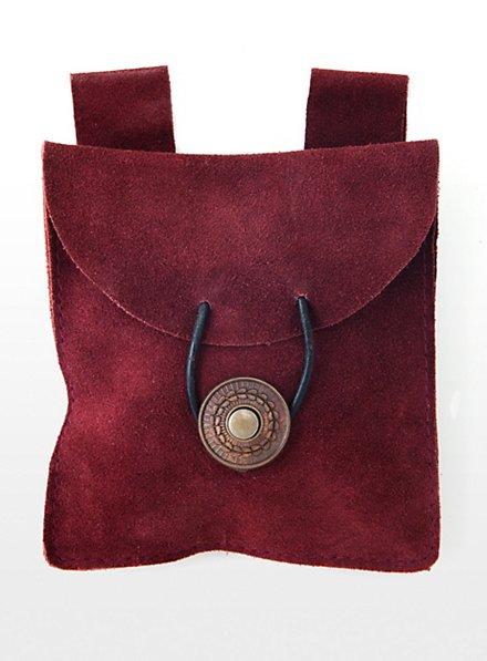 Belt Pouch wine red