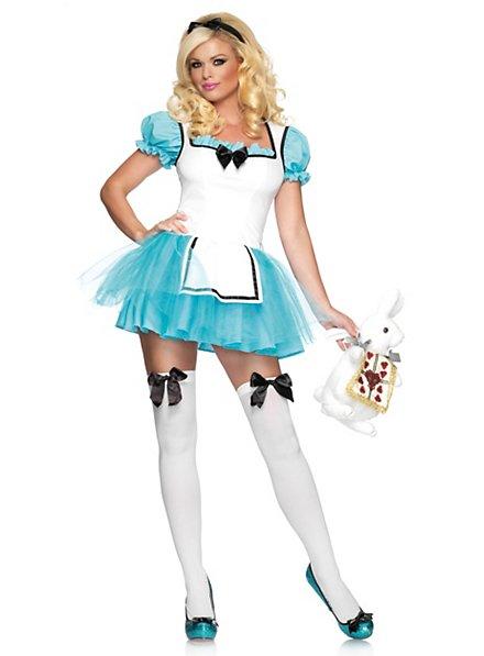 Bezaubernde Alice im Wunderland Kostüm