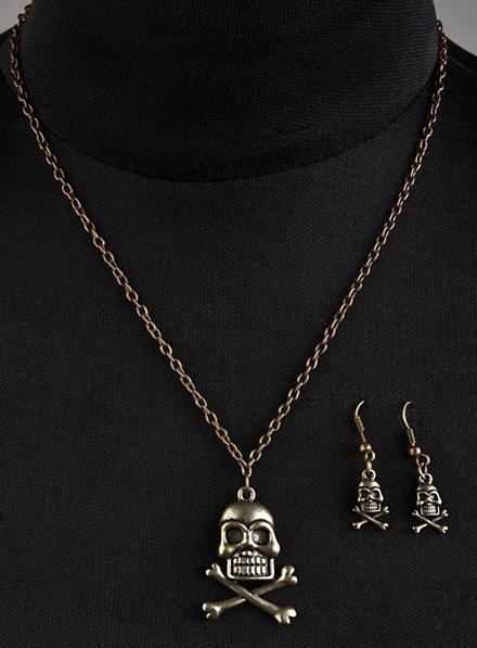 Bijoux de pirate dorée