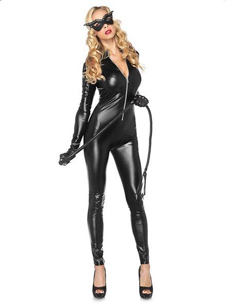 Black Cat Dominatrix Costume