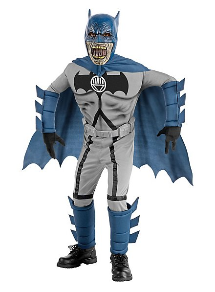 Black Lantern Batman Kids Costume