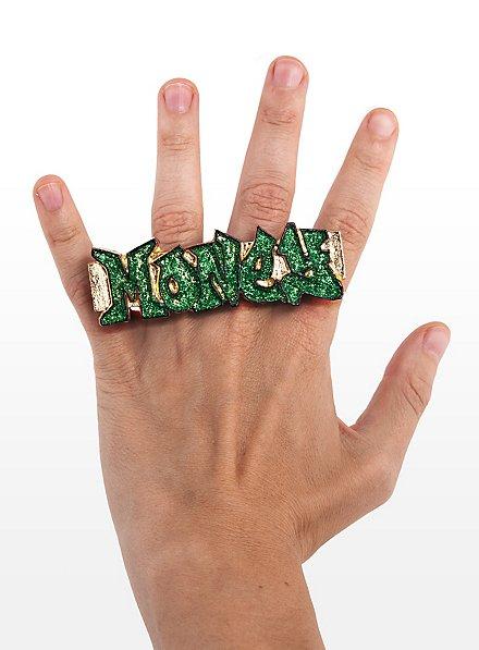 Bling Rings green