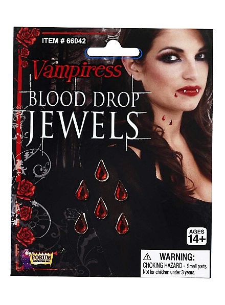 Blood Drop Jewels