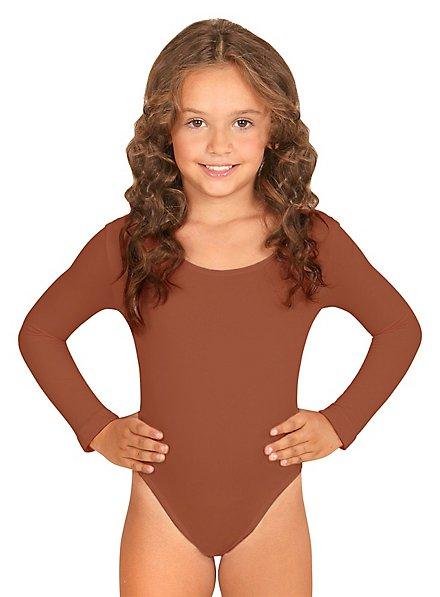 Body für Kinder hautfarben