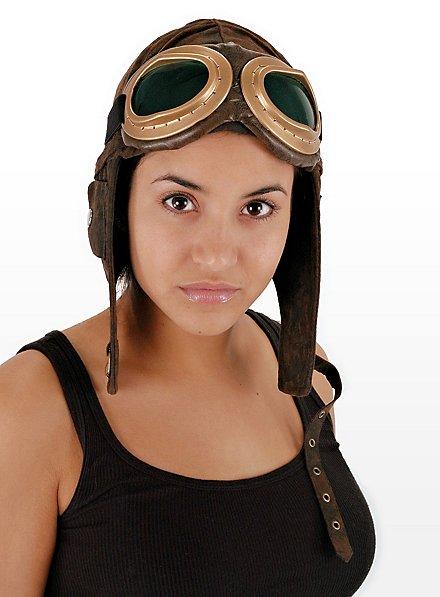 Bonnet d'aviateur marron