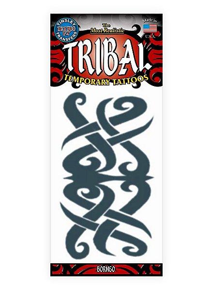 Borneo Tribal Temporary Tattoo