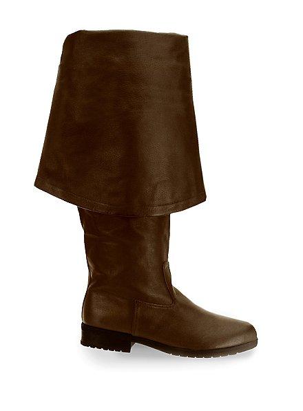 Bottes de mousquetaire Homme marron