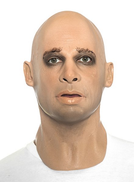 Brad Pitt Maske aus Schaumlatex