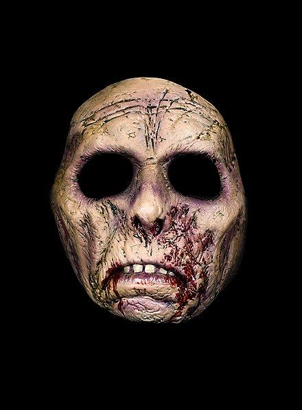 Brainless Zombie Latex Half Mask