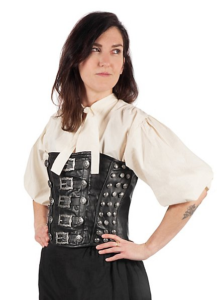 Buccaneer Ladies Leather Corset