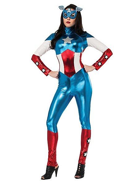 Captain America Catsuit Kostüm