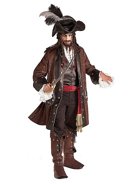 Caribbean Pirate Captain Costume